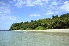 Playa tropical de Coibita Fotos de archivo libres de regalías