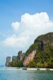 Playa tropical de la isla Fotos de archivo libres de regalías