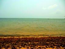 Playa tropical de la isla Fotografía de archivo