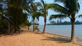 Playa tropical de la isla Fotografía de archivo libre de regalías