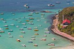 Playa tropical de la isla de Koh Larn en la ciudad de Pattaya, Chonburi Thailan Fotografía de archivo