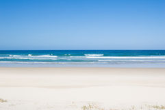 Playa tropical de la Virgen Imagen de archivo