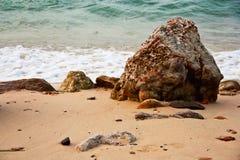 Playa tropical del mar Fotos de archivo