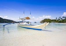Playa tropical, EL Nido, Palawan, Filipinas Fotografía de archivo