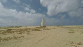 Playa tropical en África almacen de metraje de vídeo