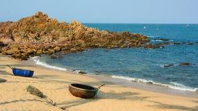 Playa tropical en Nha Trang, Vietnam Imagen de archivo libre de regalías