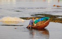 Playa tropical en Nha Trang, Vietnam Fotografía de archivo libre de regalías