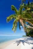 Playa tropical hermosa en la isla exótica en el Pacífico Imagen de archivo libre de regalías