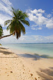 Playa tropical idílica Fotos de archivo