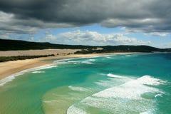 Playa tropical - isla de Fraser Imágenes de archivo libres de regalías