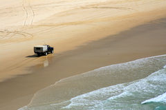 Playa tropical - isla de Fraser Fotografía de archivo libre de regalías