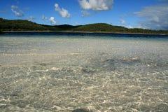 Playa tropical - isla de Fraser, Australia Fotografía de archivo
