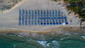Playa tropical - Langkawi Isla de Thassos, Grecia Imágenes de archivo libres de regalías