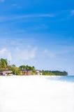 Playa tropical - Maldivas Imagenes de archivo