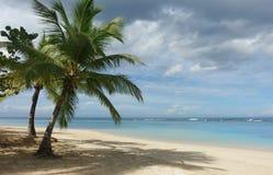 Playa tropical natural Imágenes de archivo libres de regalías