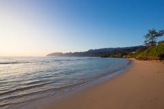 Playa tropical Oahu Hawaii del paraíso foto de archivo