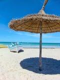 Playa tunecina Foto de archivo libre de regalías