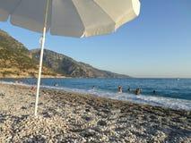 Playa Turquía de Oludeniz Fotos de archivo libres de regalías