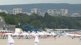 Playa urbana de Varna, Bulgaria