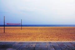 Playa vacía Imágenes de archivo libres de regalías