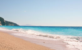 Playa vacía Imagenes de archivo