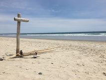 Playa vacía Fotografía de archivo libre de regalías