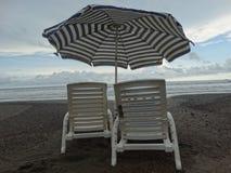 Playa van Sillas Engelse La Stock Afbeelding