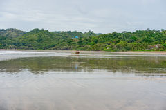 Playa Venao (παραλία στον Παναμά στην ειρηνική πλευρά) Στοκ φωτογραφία με δικαίωμα ελεύθερης χρήσης