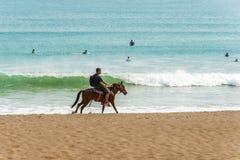 Playa Venao cerca de Pedasi en Panamá imagenes de archivo