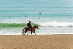 Playa Venao nahe Pedasi in Panama Stockbilder