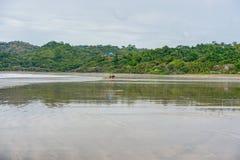 Playa Venao (stranden i Panama på Stillahavs- sida) Royaltyfri Fotografi
