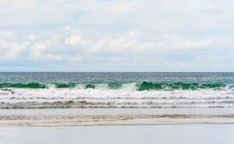 Playa Venao (stranden i Panama på Stillahavs- sida) Arkivfoto