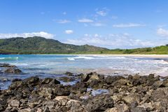 Playa Ventanas, Κόστα Ρίκα Στοκ εικόνες με δικαίωμα ελεύθερης χρήσης