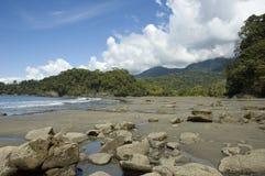 Playa Ventanas. Costa Rica. royalty free stock images