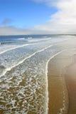 Playa vieja de la huerta, Maine Foto de archivo