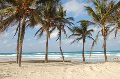 Playa - View from a Havana Beach. Beach photograph, taken about an half hour east of Havana, Cuba Stock Photo