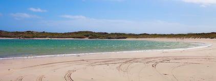 Playa visible imagenes de archivo