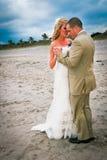 Playa Weding Imagen de archivo libre de regalías