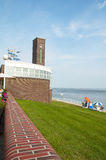 Playa Wilhelmshaven Foto de archivo libre de regalías