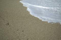 Playa y agua Imagenes de archivo