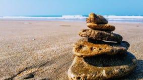 Playa y arena imagen de archivo