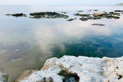 Playa y calma Fotografía de archivo