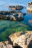 Playa y calma Fotos de archivo