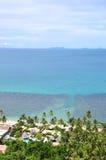Playa y coco Imagenes de archivo