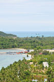 Playa y costa Imagen de archivo libre de regalías