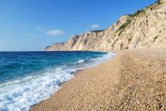Playa y mar Fotos de archivo libres de regalías