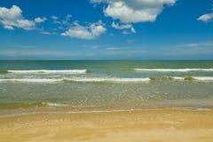 Playa y mar Fotografía de archivo libre de regalías