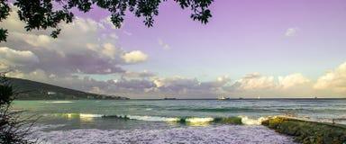 Playa y mar Imagen de archivo