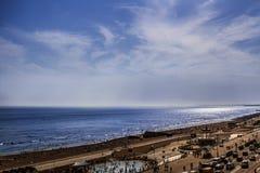 Playa y mar de Brighton Imagen de archivo libre de regalías