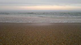 Playa y mar del verano Imagen de archivo libre de regalías